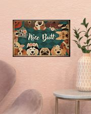 Nice butt 17x11 Poster poster-landscape-17x11-lifestyle-22