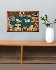 Nice butt 17x11 Poster poster-landscape-17x11-lifestyle-24