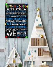 In This House We Never Give Up 11x17 Poster lifestyle-holiday-poster-2