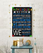 In This House We Never Give Up 11x17 Poster lifestyle-holiday-poster-3
