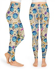 Colorful dice High Waist Leggings front