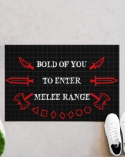 """Bold of you to enter Doormat 22.5"""" x 15""""  aos-doormat-22-5x15-lifestyle-front-06"""