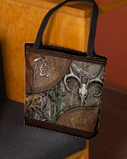 Hunting leather pattern print All-over Tote aos-all-over-tote-lifestyle-front-02