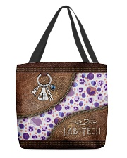 Medical Technologist All-over Tote back