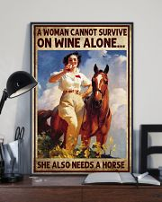 A woman cannot survive 11x17 Poster lifestyle-poster-2