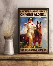 A woman cannot survive 11x17 Poster lifestyle-poster-3