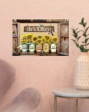 It's Okay 17x11 Poster poster-landscape-17x11-lifestyle-22