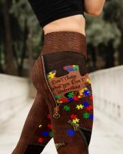 Don't judge Leather Pattern Print High Waist Leggings aos-high-waist-leggings-lifestyle-11