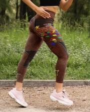 Don't judge Leather Pattern Print High Waist Leggings aos-high-waist-leggings-lifestyle-15