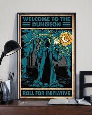 Welcome to the dungeon 11x17 Poster lifestyle-poster-2