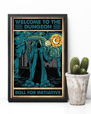 Welcome to the dungeon 11x17 Poster lifestyle-poster-8