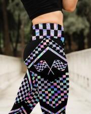 Racing Girl High Waist Leggings aos-high-waist-leggings-lifestyle-11