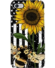 Bee And Sunflower Phone Case i-phone-8-case