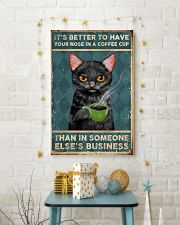 It's Better To Have Your Nose In A Coffee Cup 11x17 Poster lifestyle-holiday-poster-3