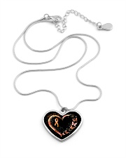 Never Give Up Metallic Heart Necklace aos-necklace-heart-metallic-lifestyle-03