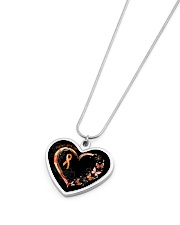 Never Give Up Metallic Heart Necklace aos-necklace-heart-metallic-lifestyle-04