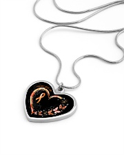 Never Give Up Metallic Heart Necklace aos-necklace-heart-metallic-lifestyle-05