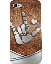 I Love You Metal Pattern Print  Phone Case i-phone-8-case