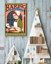 Baking because murder is wrong 11x17 Poster lifestyle-holiday-poster-2