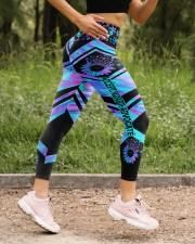 Accept Adapt Advocate High Waist Leggings aos-high-waist-leggings-lifestyle-15