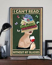 Cant Read Without My Glasses 11x17 Poster lifestyle-poster-2