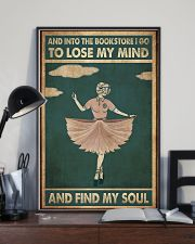 And into the bookstore 11x17 Poster lifestyle-poster-2