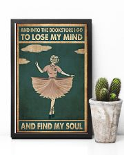 And into the bookstore 11x17 Poster lifestyle-poster-8