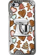 Baking Christmas Metal Pattern Print  Phone Case i-phone-8-case