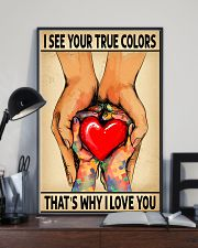 I See Your True Colors 11x17 Poster lifestyle-poster-2