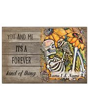 A Forever Kind Of Thing Personalize 17x11 Poster front