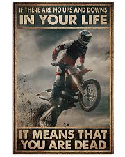 If There Are No Ups And Downs In Your Life 11x17 Poster front