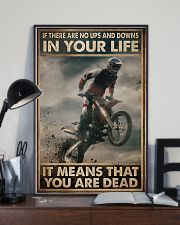 If There Are No Ups And Downs In Your Life 11x17 Poster lifestyle-poster-2