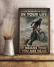 If There Are No Ups And Downs In Your Life 11x17 Poster lifestyle-poster-3