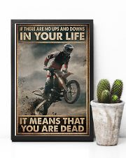 If There Are No Ups And Downs In Your Life 11x17 Poster lifestyle-poster-8