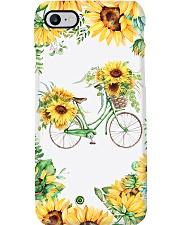 Sunflower bicycle Phone Case i-phone-8-case