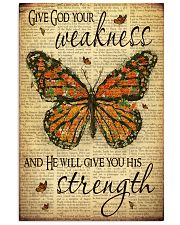 Give God Your Weakness 11x17 Poster front