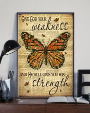 Give God Your Weakness 11x17 Poster lifestyle-poster-2