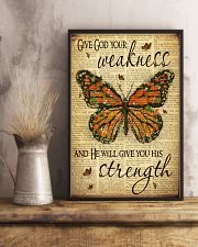Give God Your Weakness 11x17 Poster lifestyle-poster-3