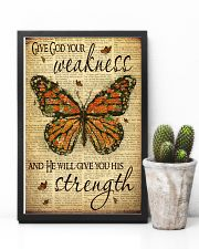 Give God Your Weakness 11x17 Poster lifestyle-poster-8