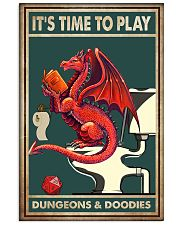 It's time to play 11x17 Poster front