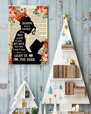 Reading Is Not A Pastime 11x17 Poster lifestyle-holiday-poster-2