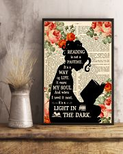 Reading Is Not A Pastime 11x17 Poster lifestyle-poster-3
