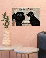 We're A Team Valentine 17x11 Poster poster-landscape-17x11-lifestyle-21