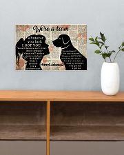 We're A Team Valentine 17x11 Poster poster-landscape-17x11-lifestyle-24