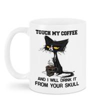 Touch My Coffee Mug back