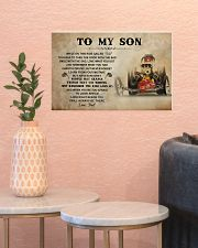 To My Son Racing 17x11 Poster poster-landscape-17x11-lifestyle-21
