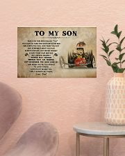 To My Son Racing 17x11 Poster poster-landscape-17x11-lifestyle-22