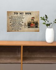 To My Son Racing 17x11 Poster poster-landscape-17x11-lifestyle-24