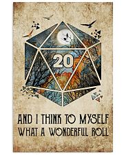 What a wonderful roll 11x17 Poster front