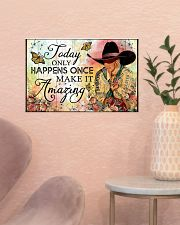 Make It Amazing 17x11 Poster poster-landscape-17x11-lifestyle-22